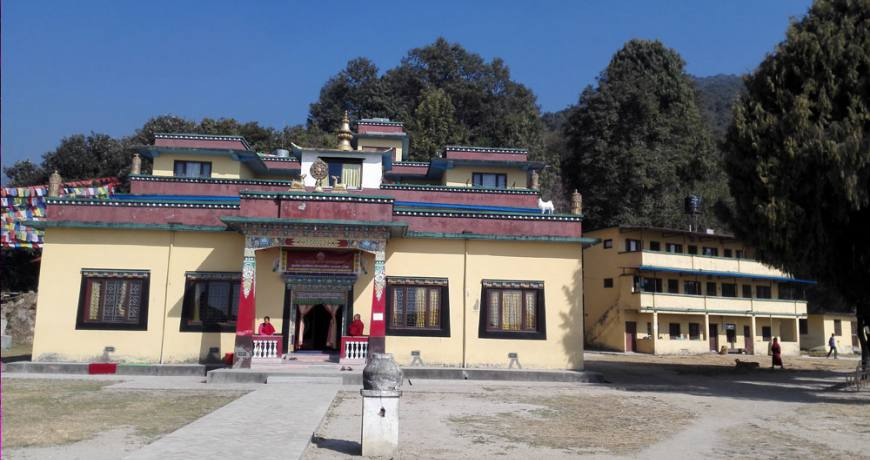 Nagi Gompa on the Shivapuri hiking route
