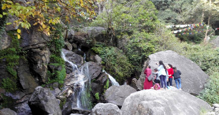Cascading Waterfalls in Sundarijal