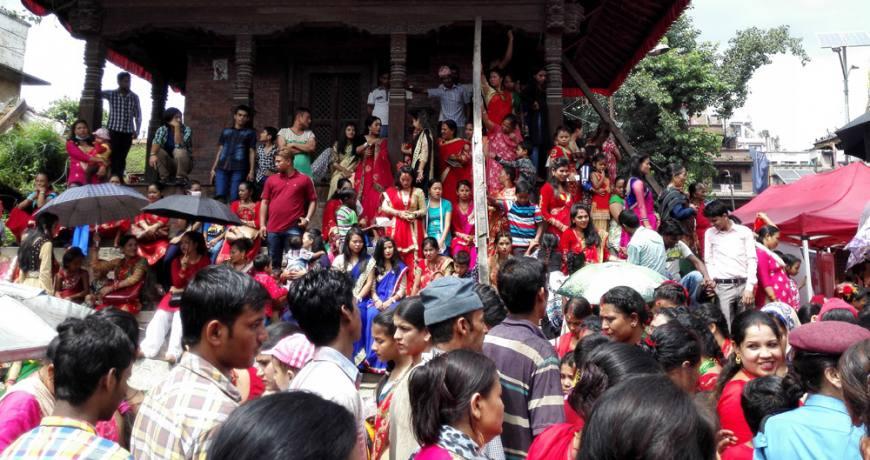 Teej, Special Festival for Women.