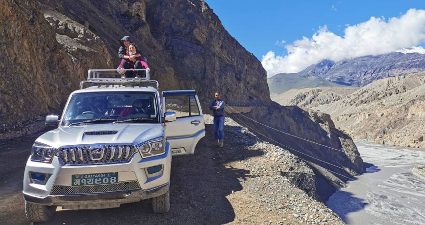 Upper Mustang Lomanthang and Muktinath Jeep Tour Highlights