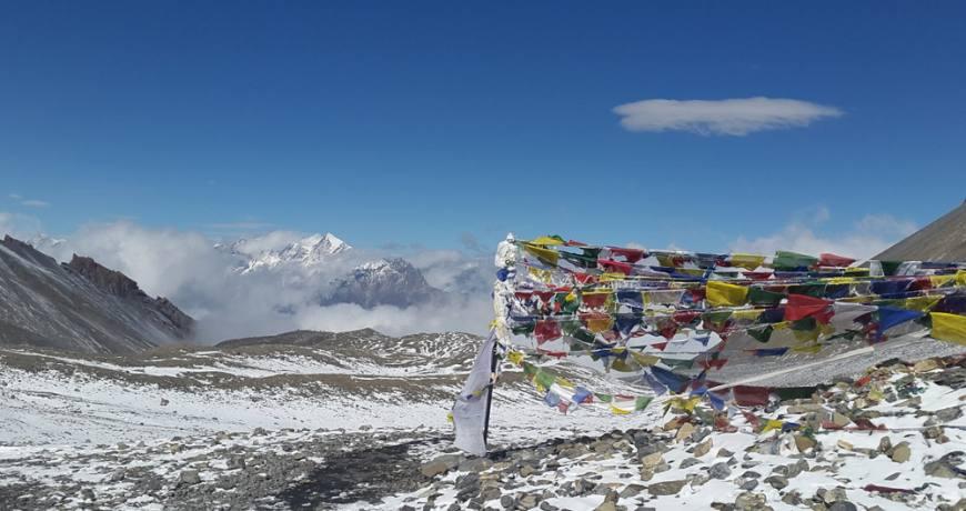 Thorong La Pass (5416 meters)