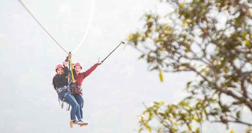 Tandem Zeepline Adventure in Dhulikhel (photo: Setopati)