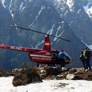Annapurna Base Camp Heli Tour and Trek