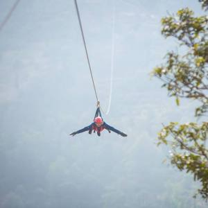 Superman Fly Zeep Line in Dhulikhel
